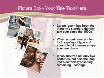 Attractive girl PowerPoint Templates - Slide 17