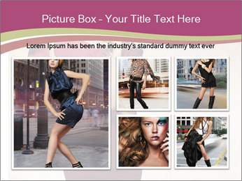 Attractive girl PowerPoint Templates - Slide 19