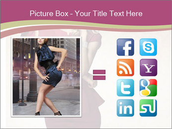 Attractive girl PowerPoint Template - Slide 21