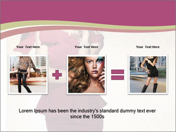 Attractive girl PowerPoint Templates - Slide 22