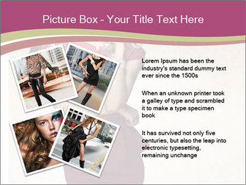 Attractive girl PowerPoint Templates - Slide 23