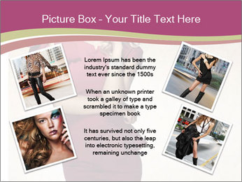Attractive girl PowerPoint Templates - Slide 24