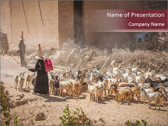 Hadramaut province PowerPoint Templates - Slide 1