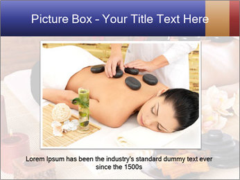 Adult woman relaxing in spa PowerPoint Templates - Slide 16