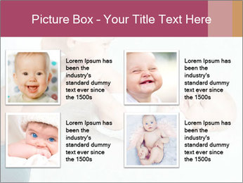 Little baby with mum PowerPoint Templates - Slide 14