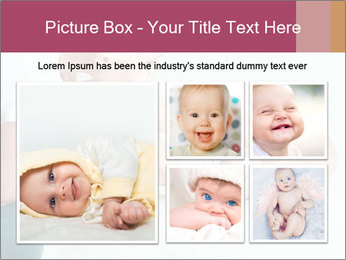 Little baby with mum PowerPoint Templates - Slide 19