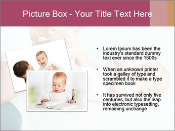 Little baby with mum PowerPoint Templates - Slide 20
