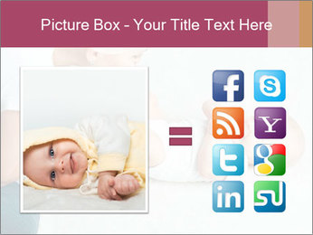 Little baby with mum PowerPoint Templates - Slide 21