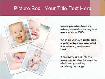 Little baby with mum PowerPoint Templates - Slide 23