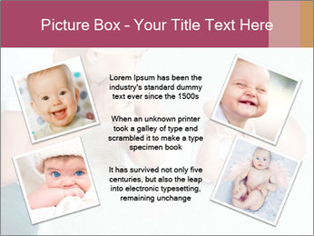 Little baby with mum PowerPoint Templates - Slide 24