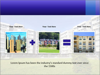 Sixstory apartment PowerPoint Templates - Slide 22