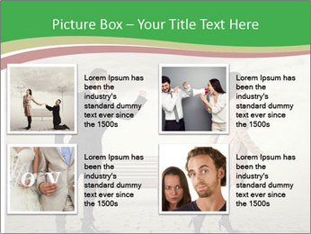 Angry man PowerPoint Template - Slide 14