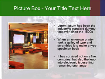 Interior of a fancy nightclub PowerPoint Templates - Slide 13