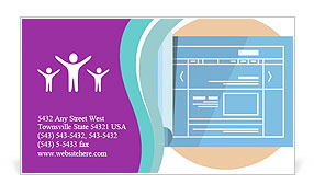 0000087580 Business Card Template