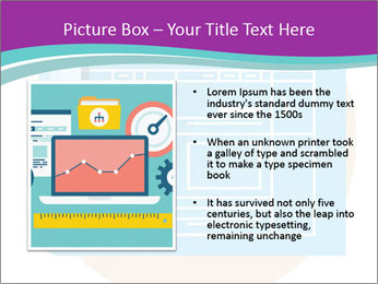 Flat design PowerPoint Template - Slide 13