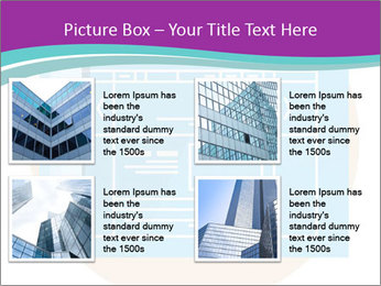 Flat design PowerPoint Template - Slide 14