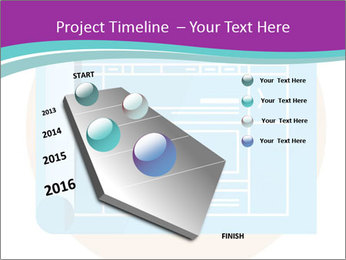 Flat design PowerPoint Template - Slide 26