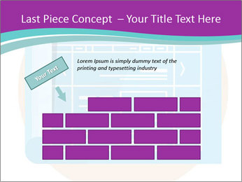 Flat design PowerPoint Template - Slide 46