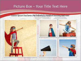 Superhero kid PowerPoint Templates - Slide 19