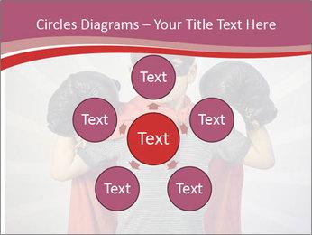 Superhero kid PowerPoint Templates - Slide 78