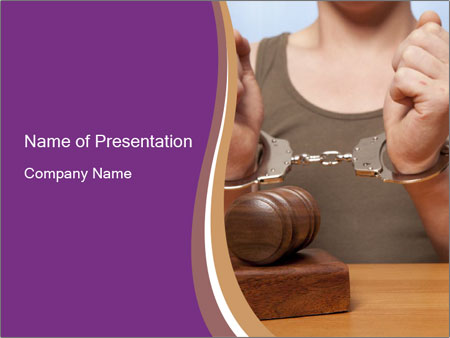 The arrest PowerPoint Template
