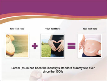 A belly pregnant woman PowerPoint Template - Slide 22