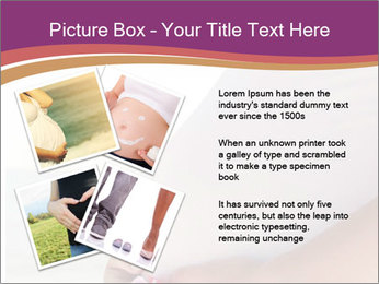 A belly pregnant woman PowerPoint Template - Slide 23