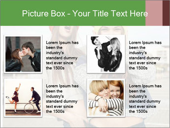 Two young hipster girl PowerPoint Template - Slide 14