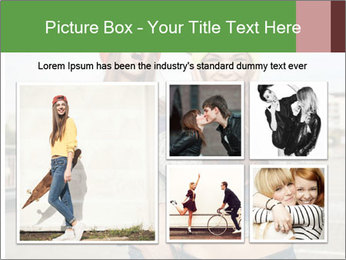 Two young hipster girl PowerPoint Template - Slide 19