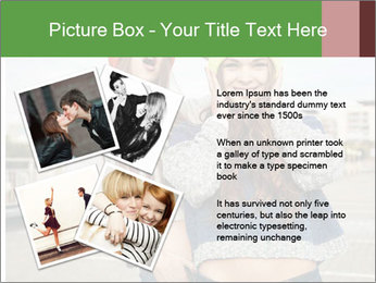 Two young hipster girl PowerPoint Template - Slide 23
