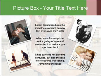 Two young hipster girl PowerPoint Template - Slide 24