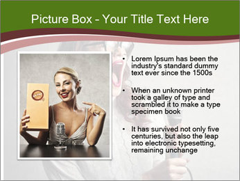 Loud Singing PowerPoint Templates - Slide 13