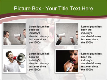 Loud Singing PowerPoint Templates - Slide 14