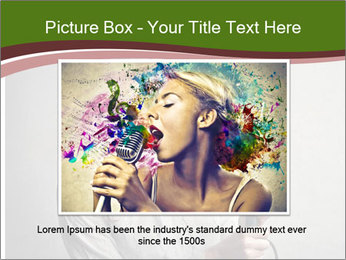 Loud Singing PowerPoint Templates - Slide 16