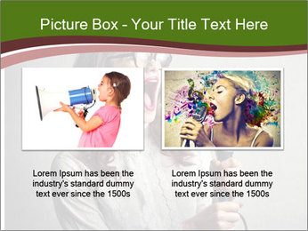 Loud Singing PowerPoint Templates - Slide 18