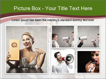 Loud Singing PowerPoint Templates - Slide 19
