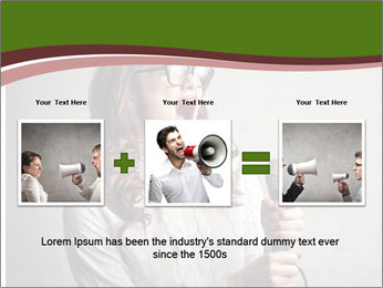 Loud Singing PowerPoint Templates - Slide 22