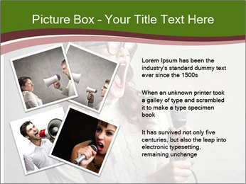 Loud Singing PowerPoint Templates - Slide 23