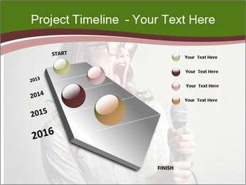 Loud Singing PowerPoint Templates - Slide 26
