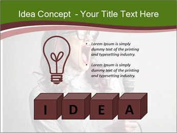Loud Singing PowerPoint Templates - Slide 80