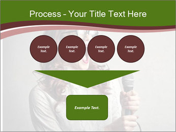 Loud Singing PowerPoint Templates - Slide 93