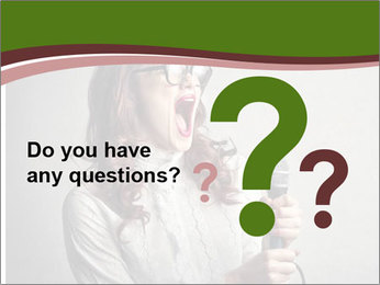 Loud Singing PowerPoint Templates - Slide 96