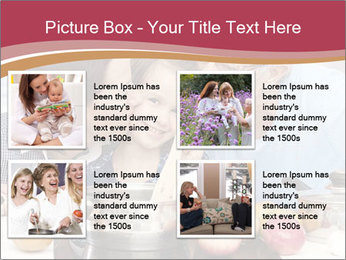 Mother, grandmother and little daughter PowerPoint Templates - Slide 14