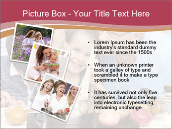 Mother, grandmother and little daughter PowerPoint Templates - Slide 17