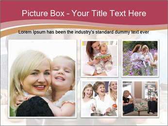 Mother, grandmother and little daughter PowerPoint Templates - Slide 19