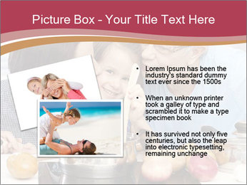 Mother, grandmother and little daughter PowerPoint Templates - Slide 20