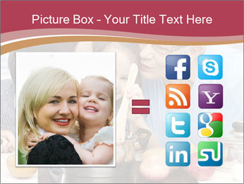 Mother, grandmother and little daughter PowerPoint Templates - Slide 21