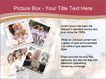 Mother, grandmother and little daughter PowerPoint Templates - Slide 23