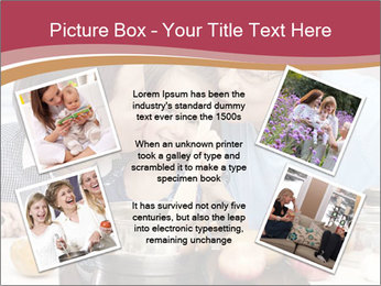 Mother, grandmother and little daughter PowerPoint Templates - Slide 24