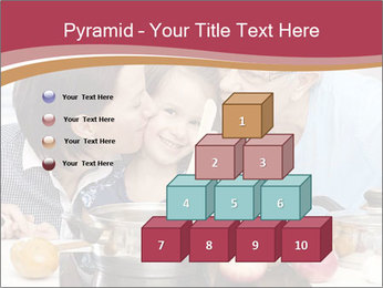 Mother, grandmother and little daughter PowerPoint Templates - Slide 31